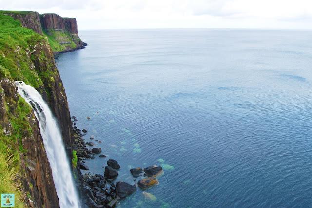 Kilt Rock, isla de Skye (Escocia)