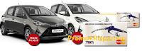 Logo Concorso ''Vinci con Gente'': 80 buoni carburante e 2 Toyota Yaris