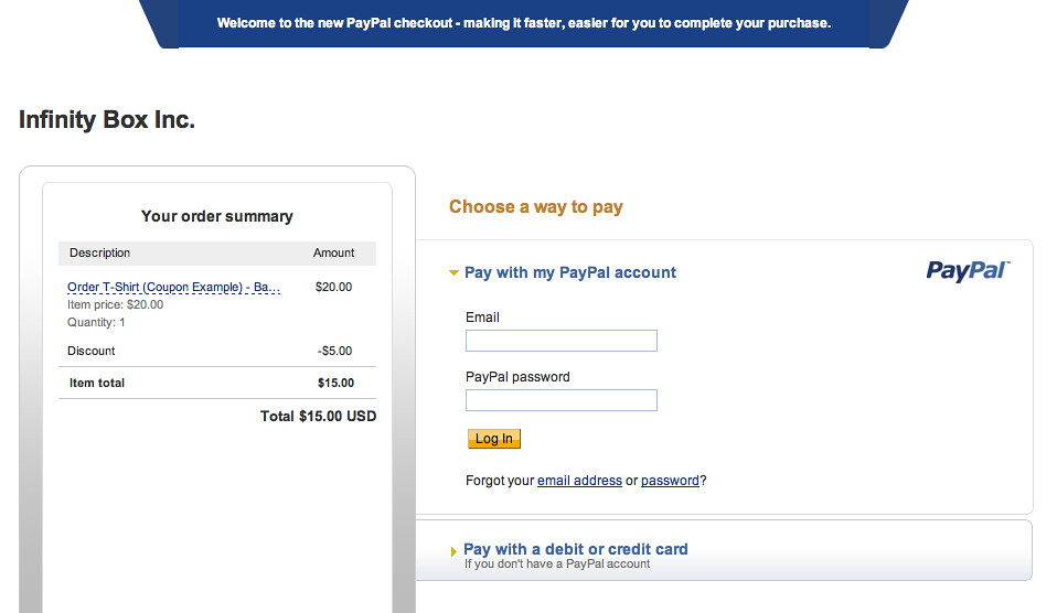 What is the email address for paypal