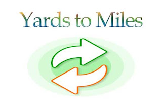 Yards to Miles