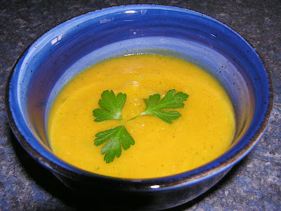 Gluten Free Dairy Free Curry Pumpkin Soup