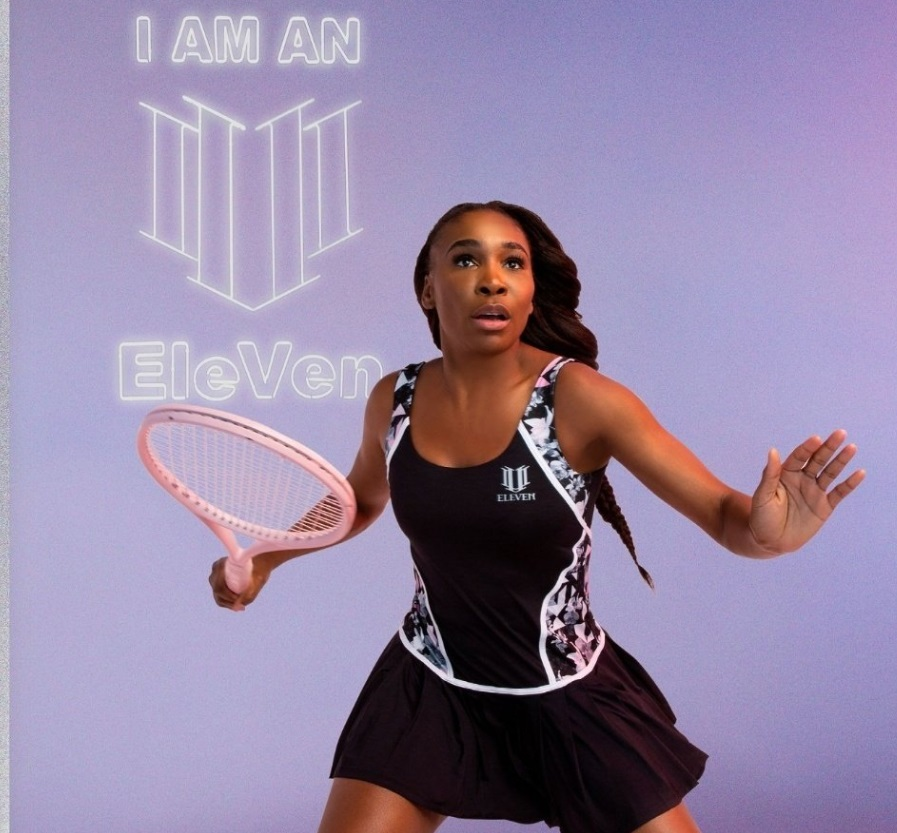 Venus Williams Challenge outfit for the Australian Open 2020