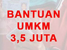 Info Terbaru Bansos dari Pemerintah - Bantuan UMKM 3,5 Juta
