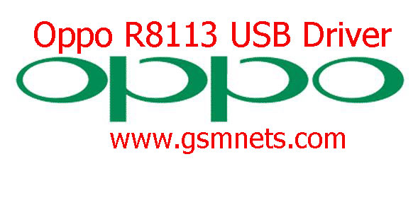 Oppo R8113 USB Driver Download