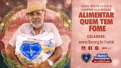 LBV promove ação solidária para arrecadar alimentos