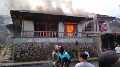 Rumah Warga Dieng Wonosobo Ludes Dilalap Si Jago Merah, Kerugian Rp 150 Juta