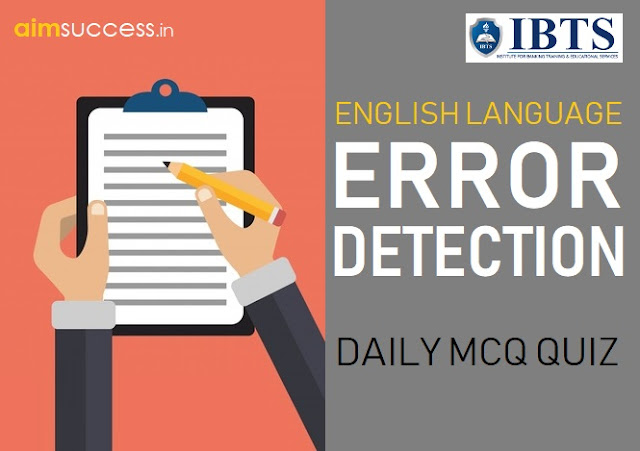 Error Detection for IBPS PO/RRB Mains 2018: 28 Aug