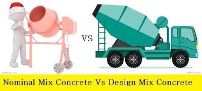 Nominal Mix Concrete Vs Design Mix Concrete