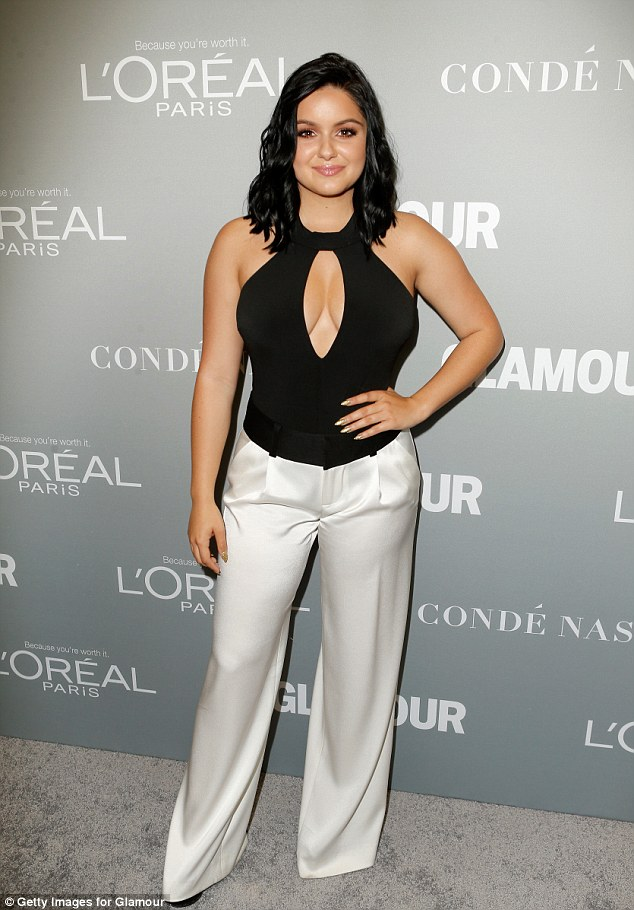 Ariel Winter puts cleavage on show at the Glamour Women of the Year Awards 2016