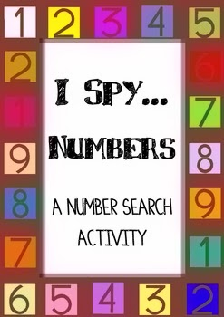 http://www.teacherspayteachers.com/Product/I-Spy-Numbers-A-number-search-activity-0-50-848452