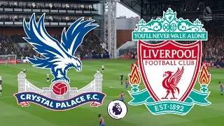 LIVE MATCH: Crystal Palace Vs Liverpool Premier League 23/11/2019