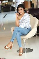 Avantika Mishra in One Shoulder Crop Top and Denim Jeggings ~  Exclusive 075.JPG