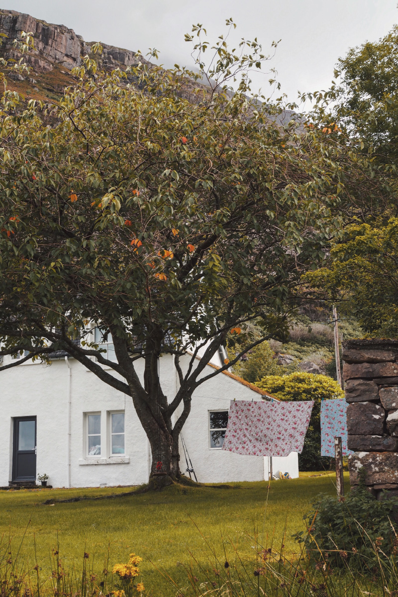 Près de Shieldaig dans les Highlands en Ecosse
