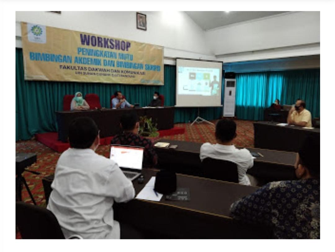FDK UIN Bandung Gelar Workshop Peningkatan Mutu Bimbingan Akademik dan Bimbingan Skripsi