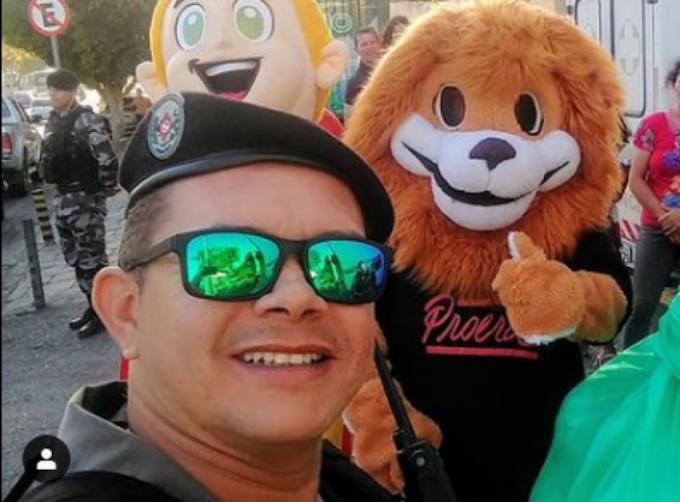"""Vereador homenageia policial militar vítima de covid-19: """"Marcou muitas vidas"""""""