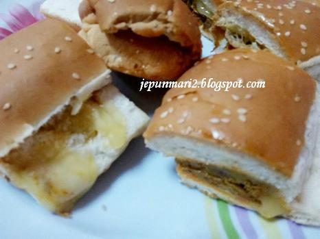 Roti John Cheese sekilo, Taman Bukit Teratai Ampang