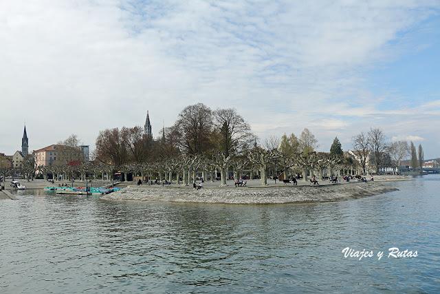 Stadtgarten, Lago Constanza