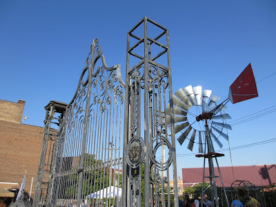 C.A.N. Art Handworks Gate and Windmill