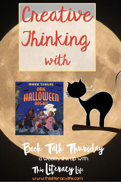 One Halloween Night is a fun book that helps students think of their own problems and solutions and leads to great predictions throughout the book.