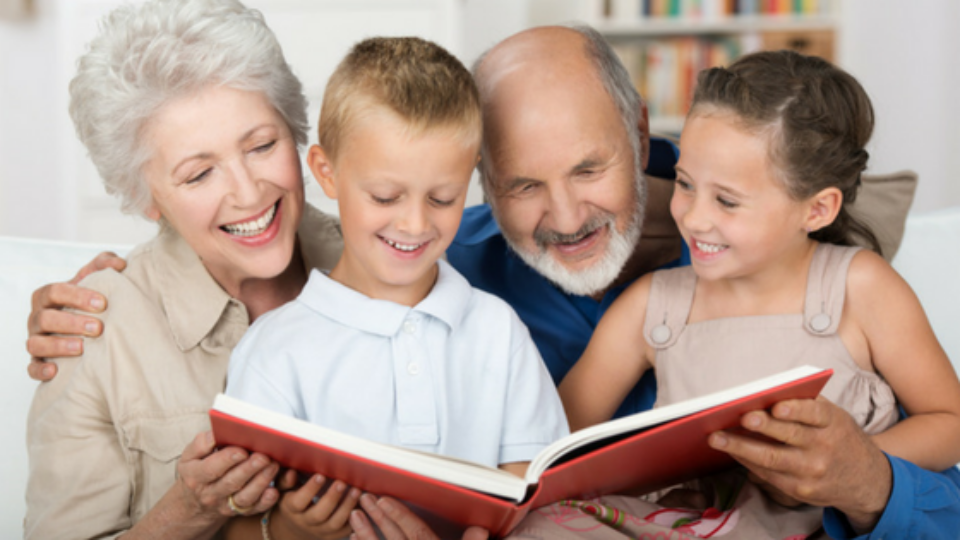 Spending Time With Grandma And Grandpa Is Great For Children