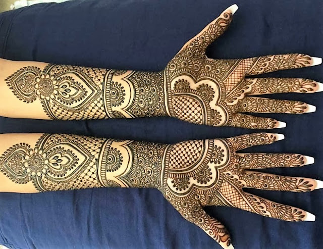Top  Simple and Beautiful Mehndi Designs