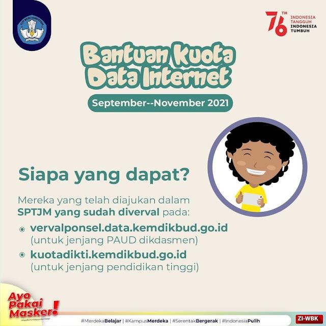 Bantuan Kuota Data Internet September November 2021-894838413