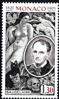 Monaco - 1972 - 150 th Anniversary of the birth of Charles Baudelaire