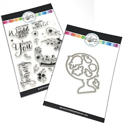 AMBER'S WORLD STAMP SET