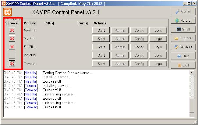 How to set Auto-Start XAMPP  ?