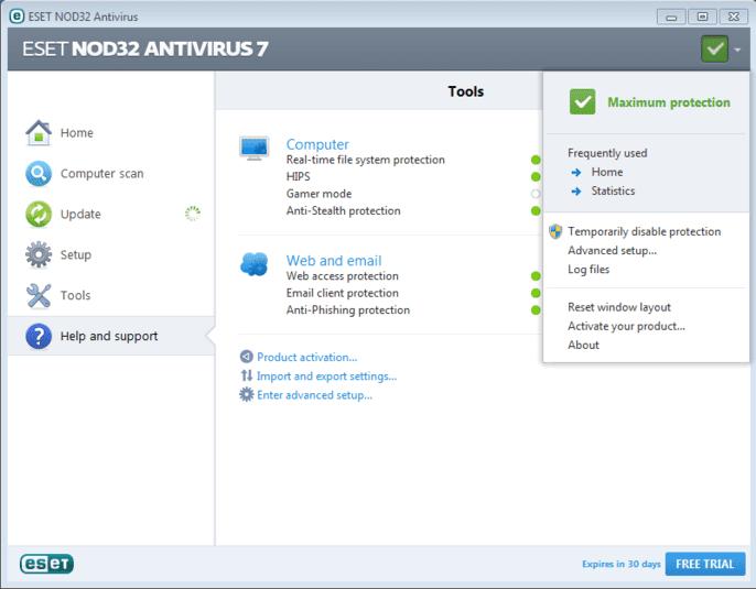 Username Eset Node32 & Smart Security Update