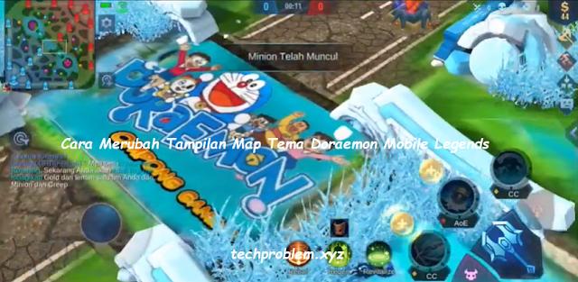 Cara Merubah Tampilan Map Doraemon di Mobile Legends