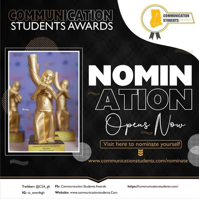 Nomination for Communication Students' Awards 2021 Opened
