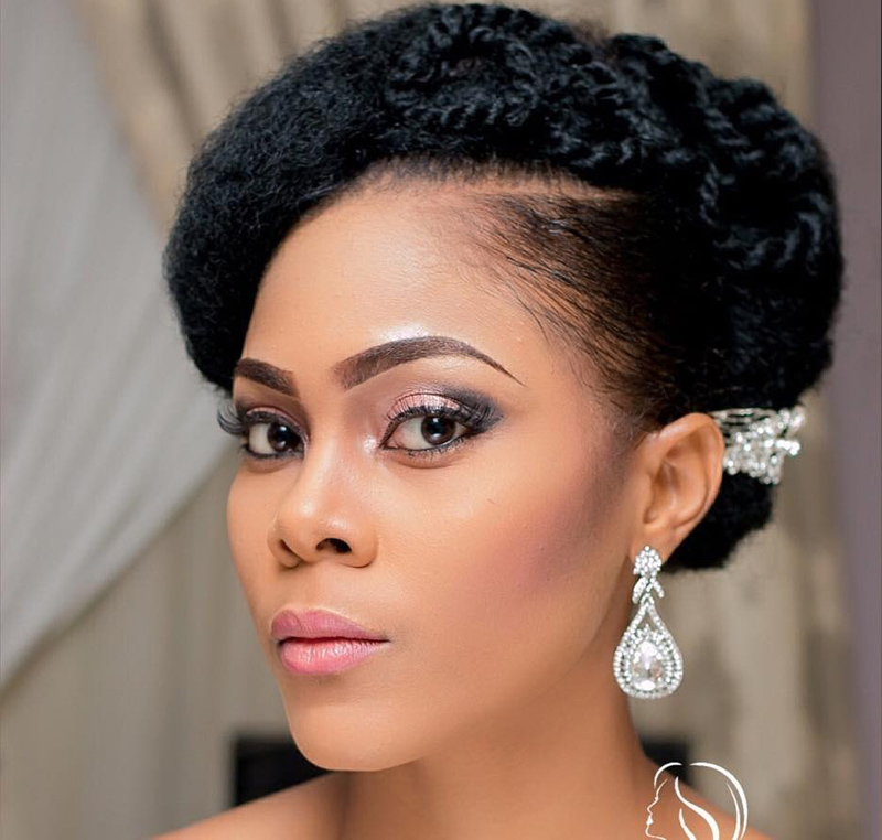 12 Gorgeous Bridal Styles To Try If You Have Natural Hair