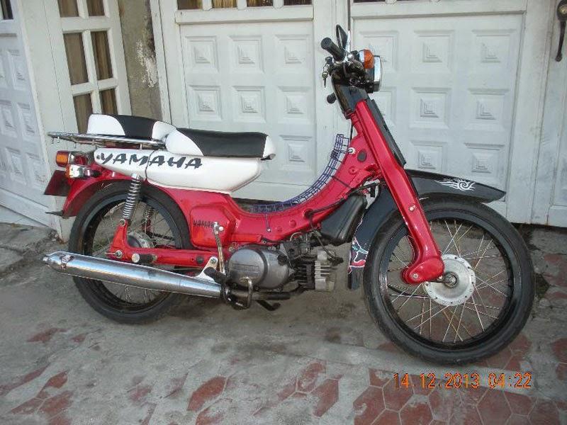 Kumuplan Foto Modifikasi Motor Tua Yamaha V80