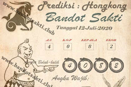 Syair Bandot Sakti Togel Hongkong Minggu 12 Juli 2020
