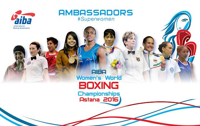 BOXEO - Mundial femenino 2016 (Astana, Kazajistán)