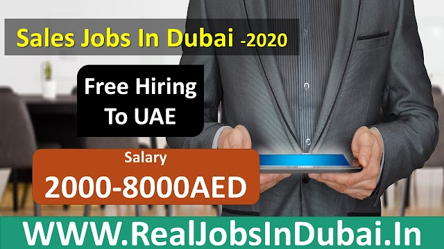 Sales Jobs In Dubai 2020 -UAE
