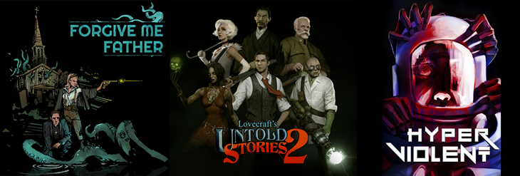 1C Entertainment Reveals Forgive Me Father, Lovecraft's Untold Stories 2, and HYPERVIOLENT Partnership at Realms Deep 2021