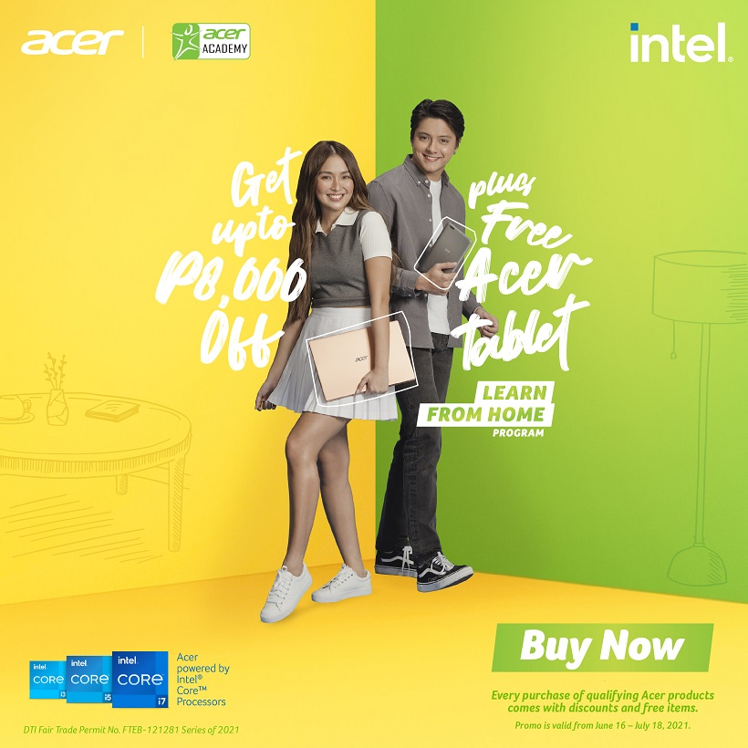 Acer's Learn from Home program offers the best deals on Laptops and more!