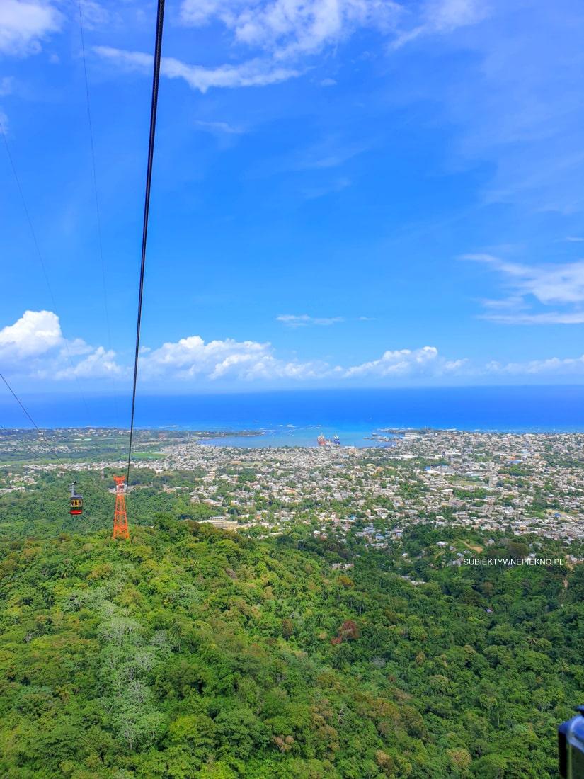 Puerto Plata Teleferico Cable Car Dominikana - ceny, widoki