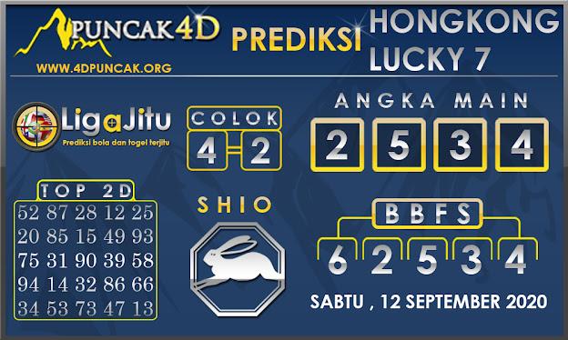 PREDIKSI TOGEL HONGKONG LUCKY7 PUNCAK4D 12 SEPTEMBER 2020