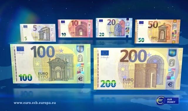 Od sjutra u opticaju nove novčanice od 100 i 200 eura