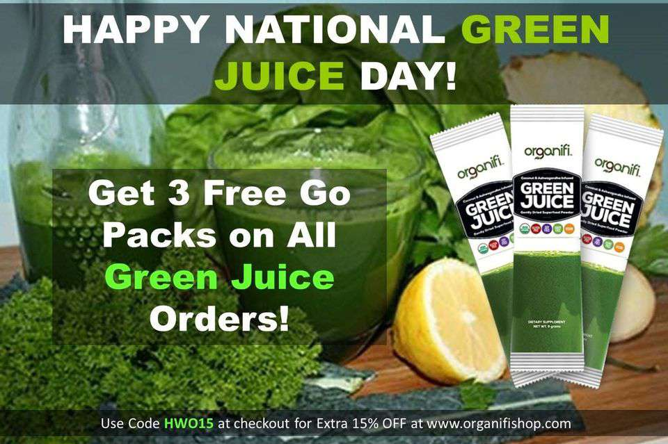 National Green Juice Day Wishes for Whatsapp