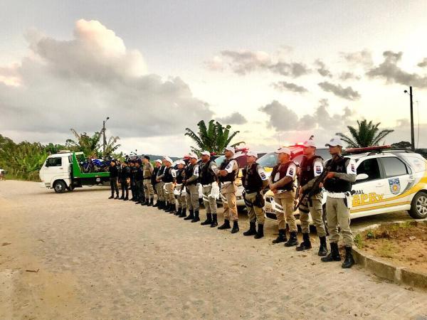 BPRv realiza operações na AL-220 em Batalha e Senador Rui Palmeira