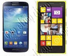 تعليم الفرق بين Nokia Lumia 1020 و Samsung Galaxy S 4 بالفيديو والصور