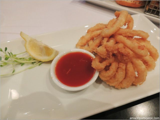 Le Chat Noir: Fried Calamari $14.95