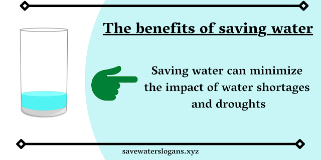 Benefits Of Water Conservation