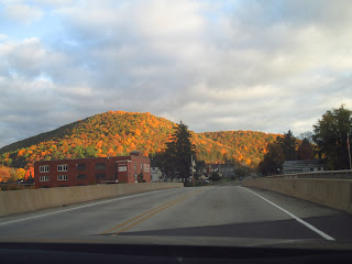 Fall in the mountains