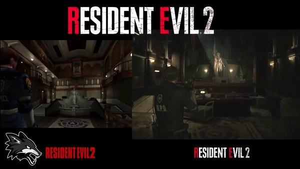 شاهد بالفيديو مقارنة لرسومات لعبة Resident Evil 2 بين الإصدار الأصلي و الريميك ، نقلة كبيرة جدا..