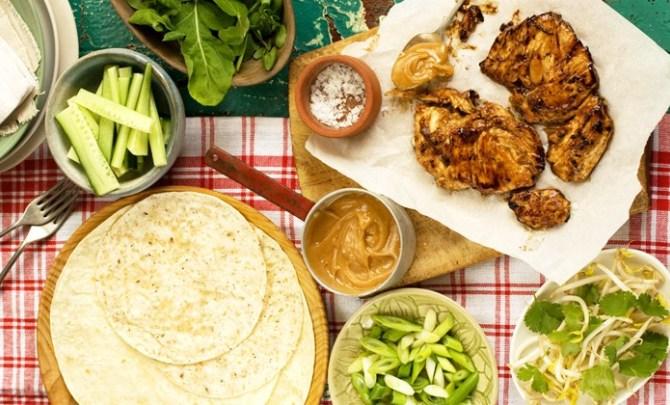 Asian Chicken Wraps #healthyfood #dietketo #breakfast #food